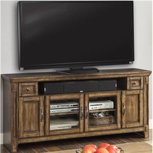 Parker House Riverbend TV Console with 4 Doors, and 2 Drawers