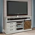 "Parker House Savannah 67"" TV Console - Item Number: SAV-67"
