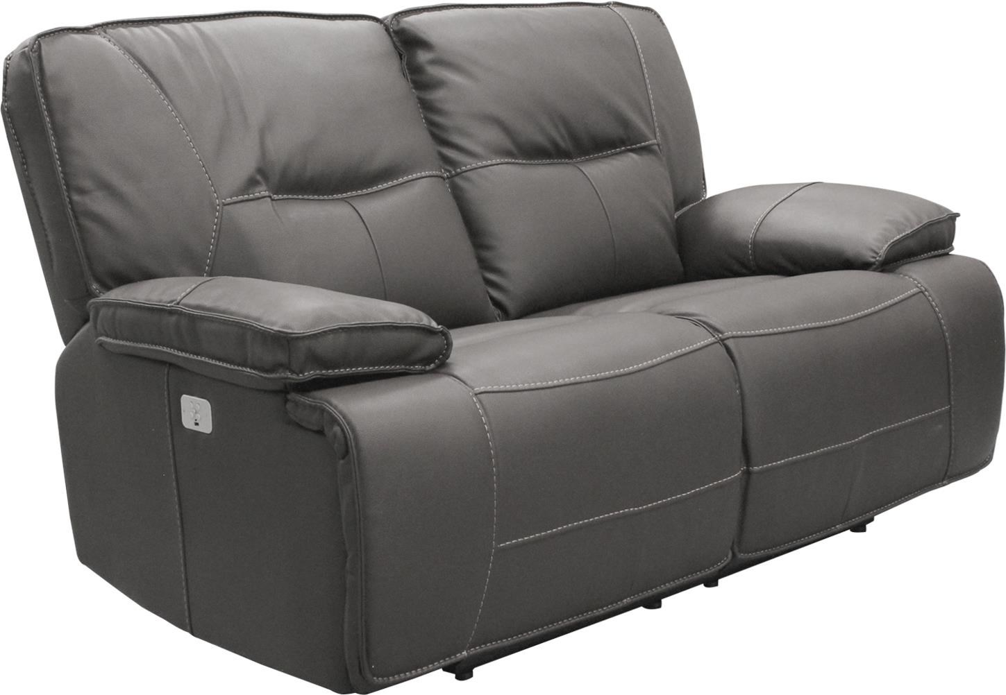 SPARTACUS Power Reclining Loveseat by Parker House at Beck's Furniture