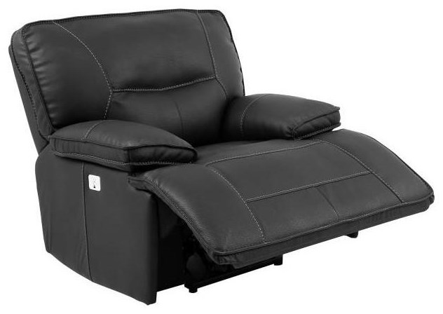 Spartan Spartan Power Recliner with Headrest by Parker House at Morris Home