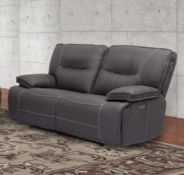 Spartan - Spartan Power Reclining Loveseat by Parker House at Morris Home