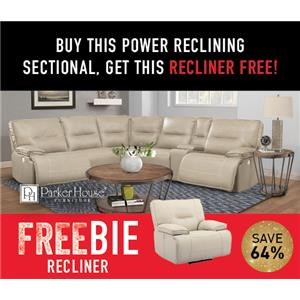 Spartan Power Sectional with Freebie!