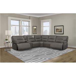 Spartan Power Sectional Sofa