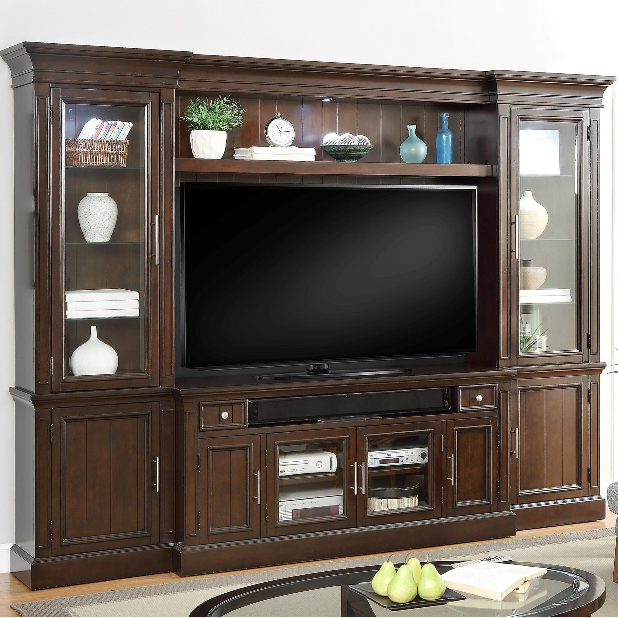 Parker House Stanford 4 Piece Entertainment Wall - Item Number: STA-100-4