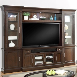 Parker House Stanford 4 Piece Entertainment Wall