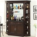 Parker House Stanford Bar with Granite Top and Wine Rack - STA-465-2