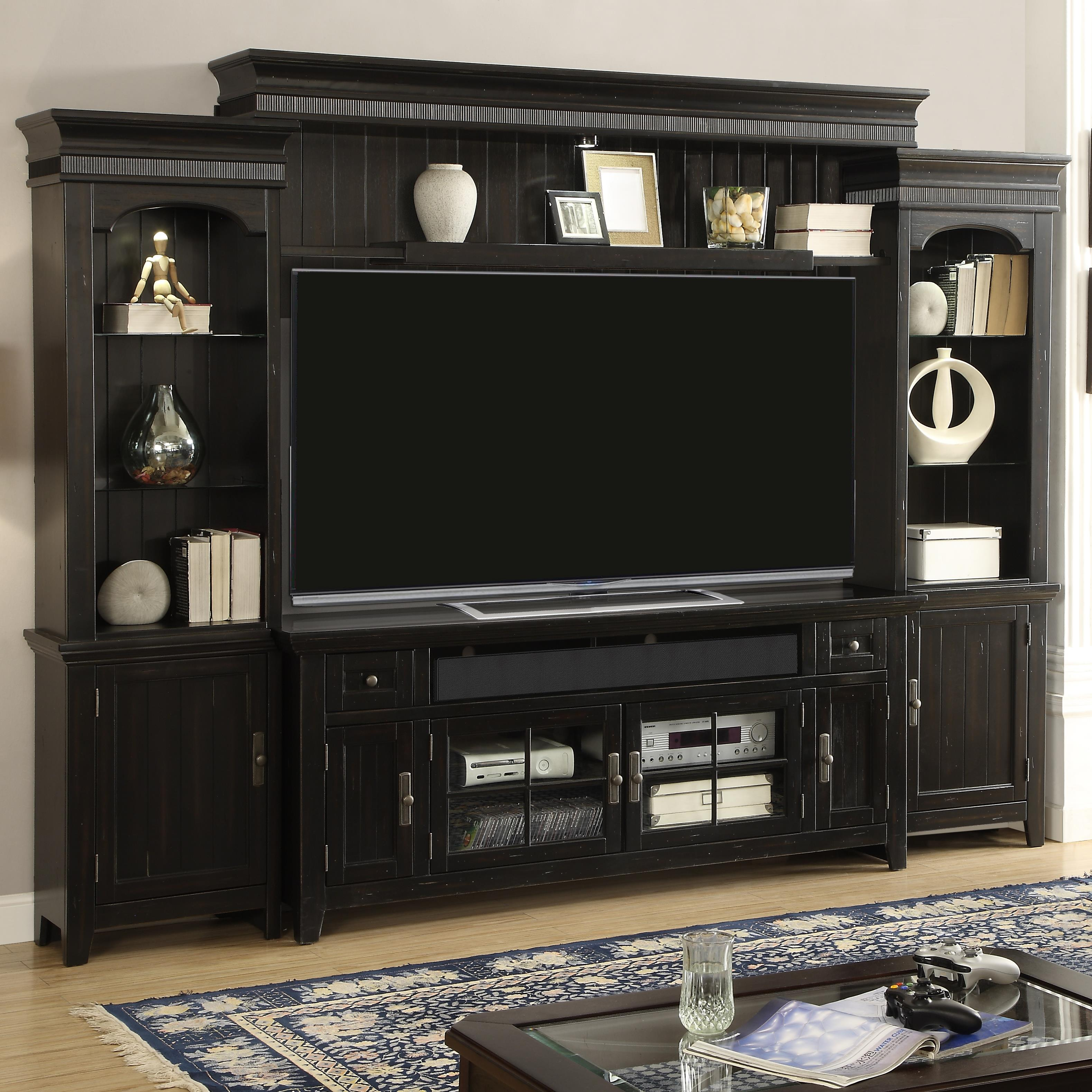 "Parker House Tahoe 72"" Console Entertainment Wall - Item Number: TAH-172-4"