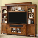 """Parker House Terrace 62"""" Console Entertainment Wall - Item Number: TER-162-4"""