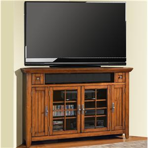 "Parker House Terrace 62"" Corner TV Console"