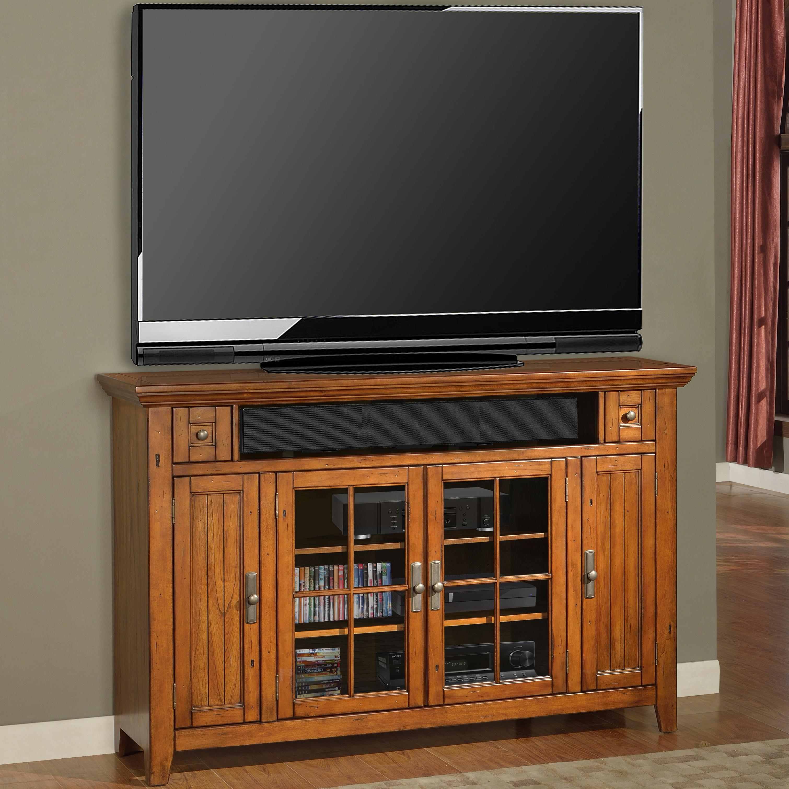 "Parker House Terrace 62"" (40""H) TV Console - Item Number: TER-62TL"