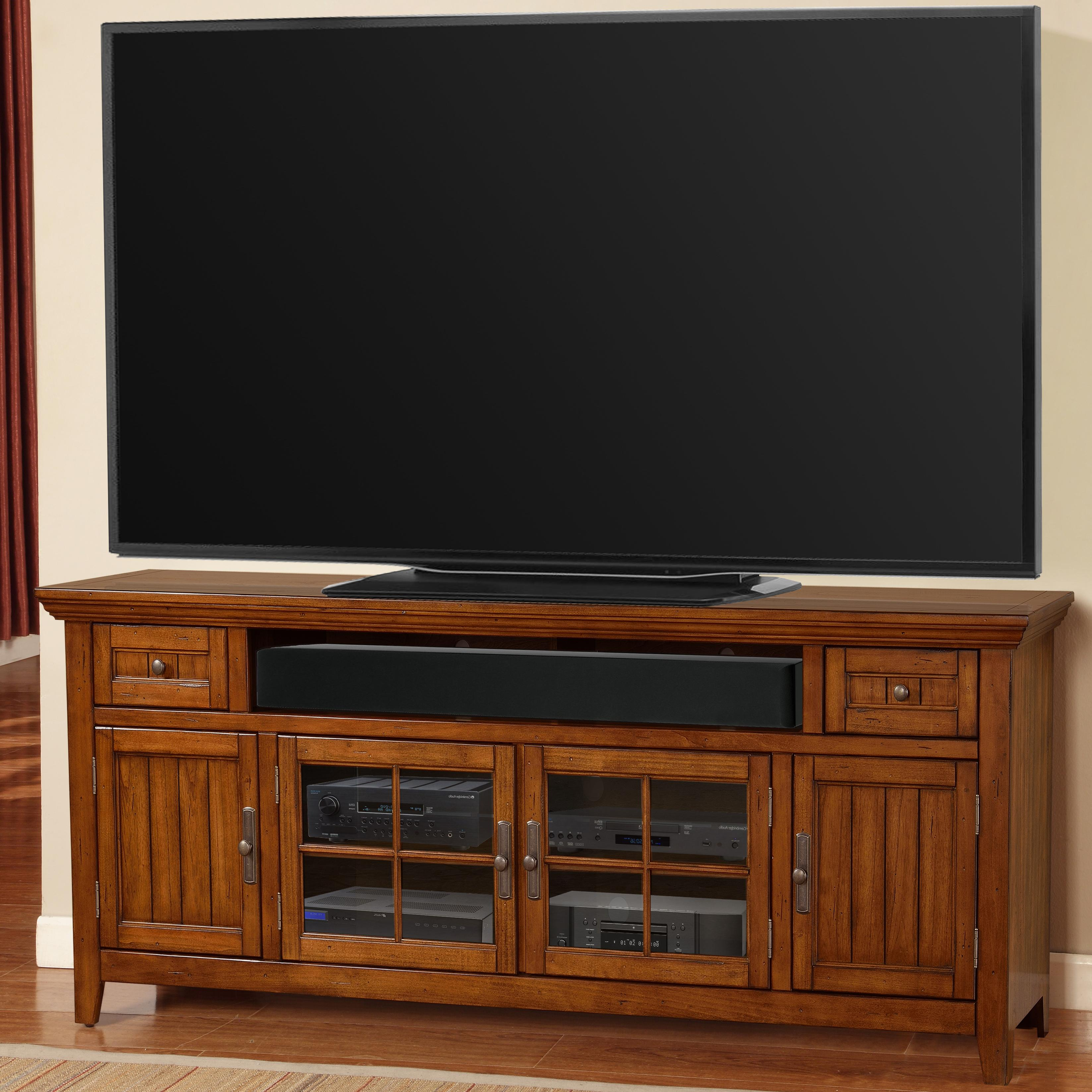 "Parker House Terrace 84"" TV Console - Item Number: TER-84"