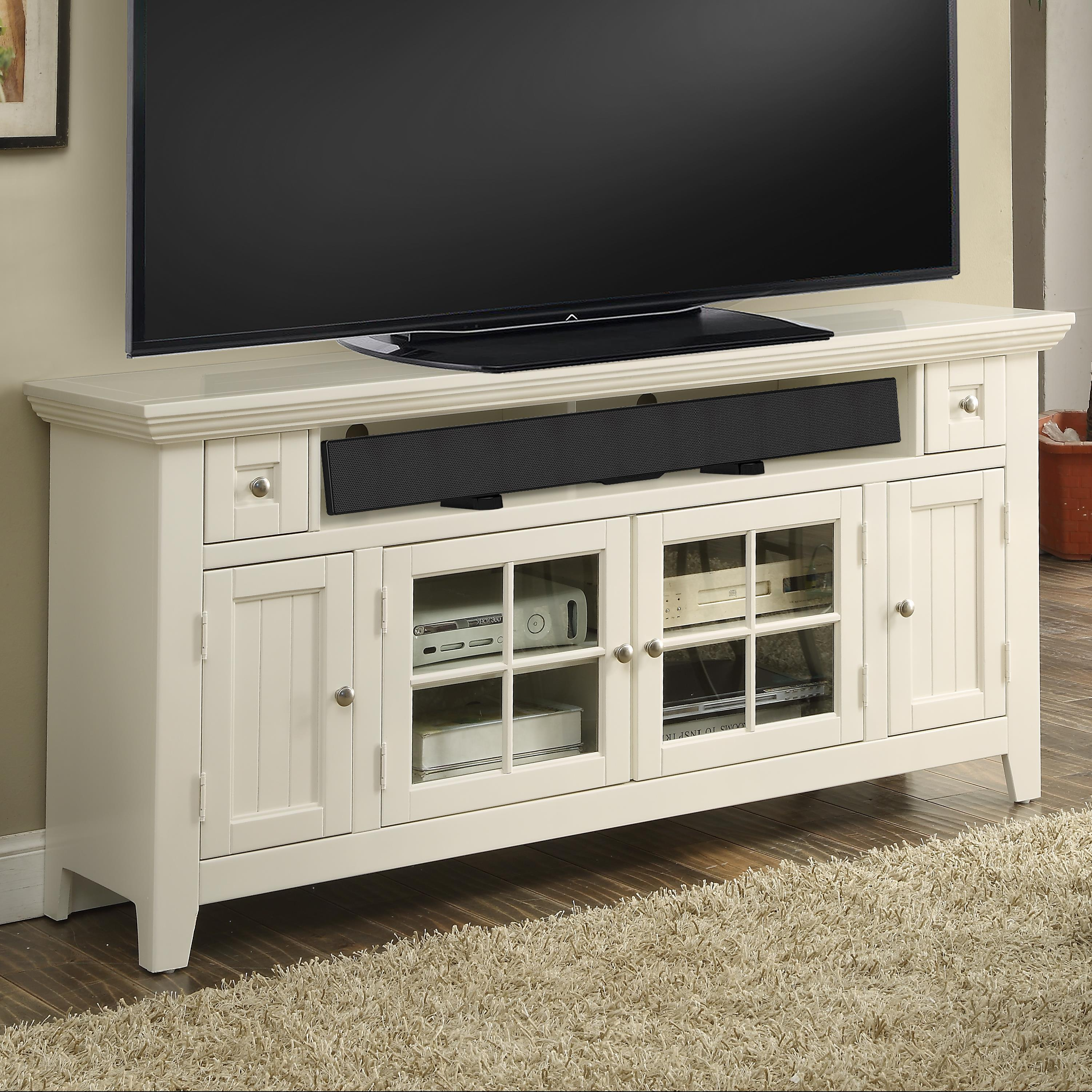 "Parker House Tidewater 62"" TV Console - Item Number: TID-62"