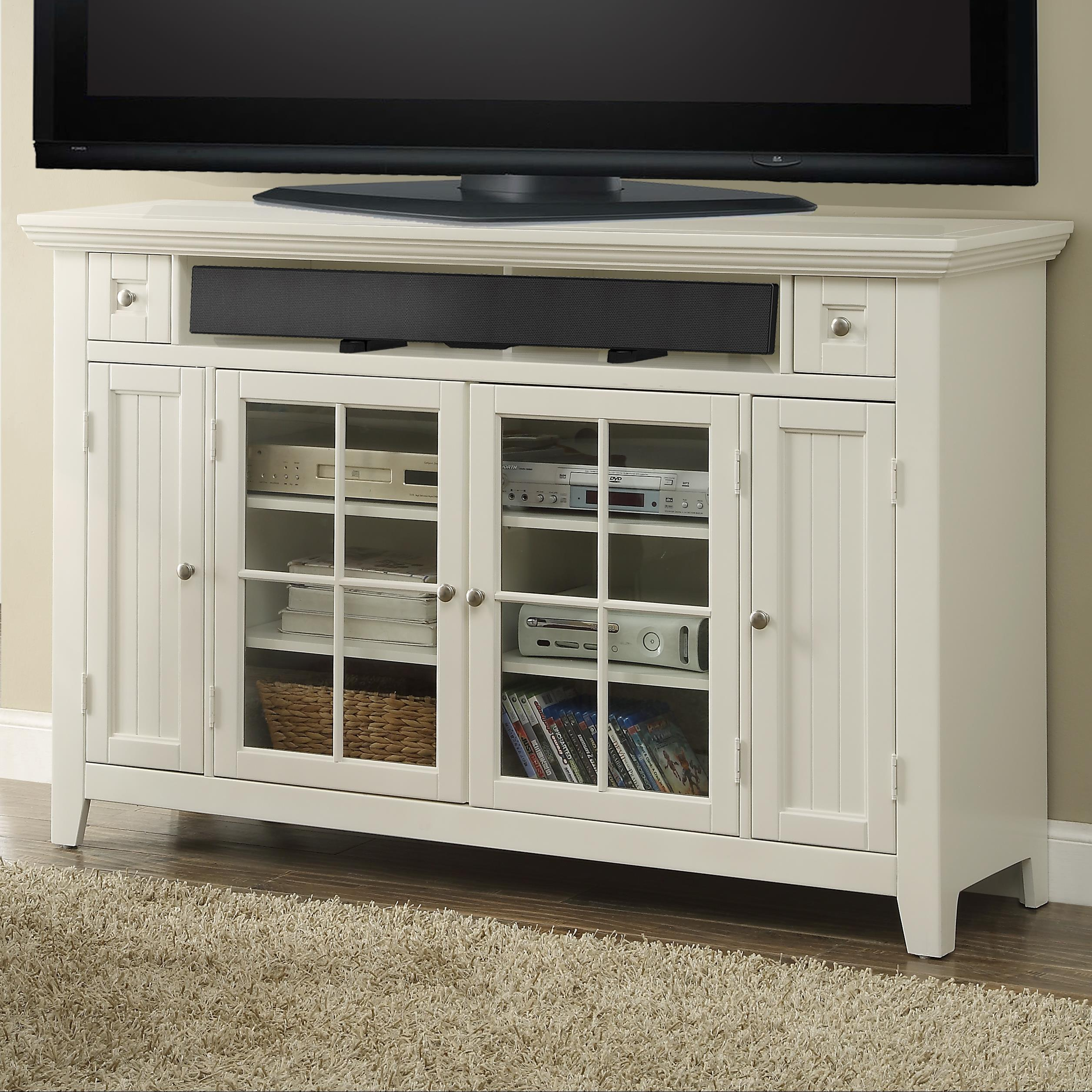 "Parker House Tidewater 62"" Tall TV Console - Item Number: TID-62TL"