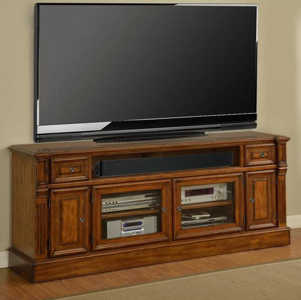 "Parker House Toscano 72"" TV Console - Item Number: TOS 72"