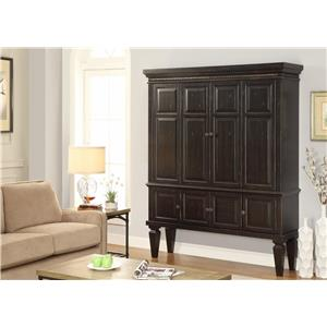 Morris Home Furnishings Valona Valona 2-Piece Entertainment Armoire