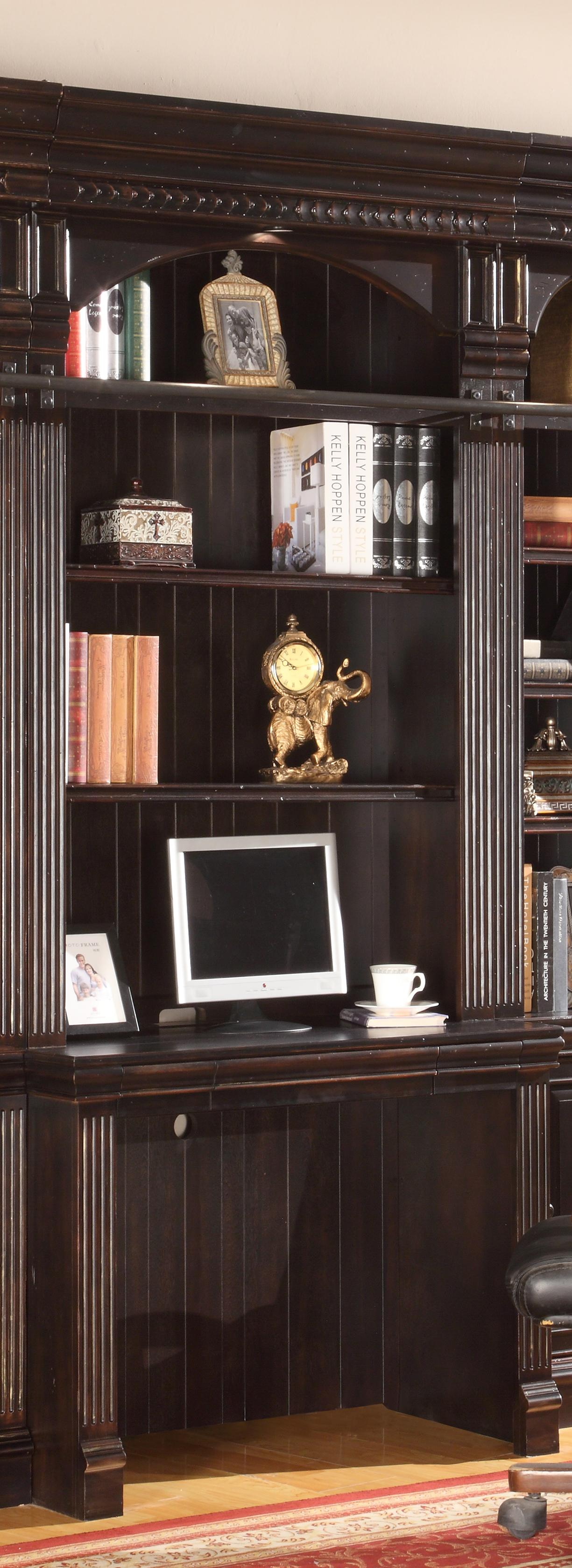 Parker House Venezia 2-Piece Library Desk - Item Number: VEN 460-2