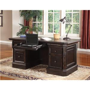Parker House Venezia Double Pedestal Executive Desk