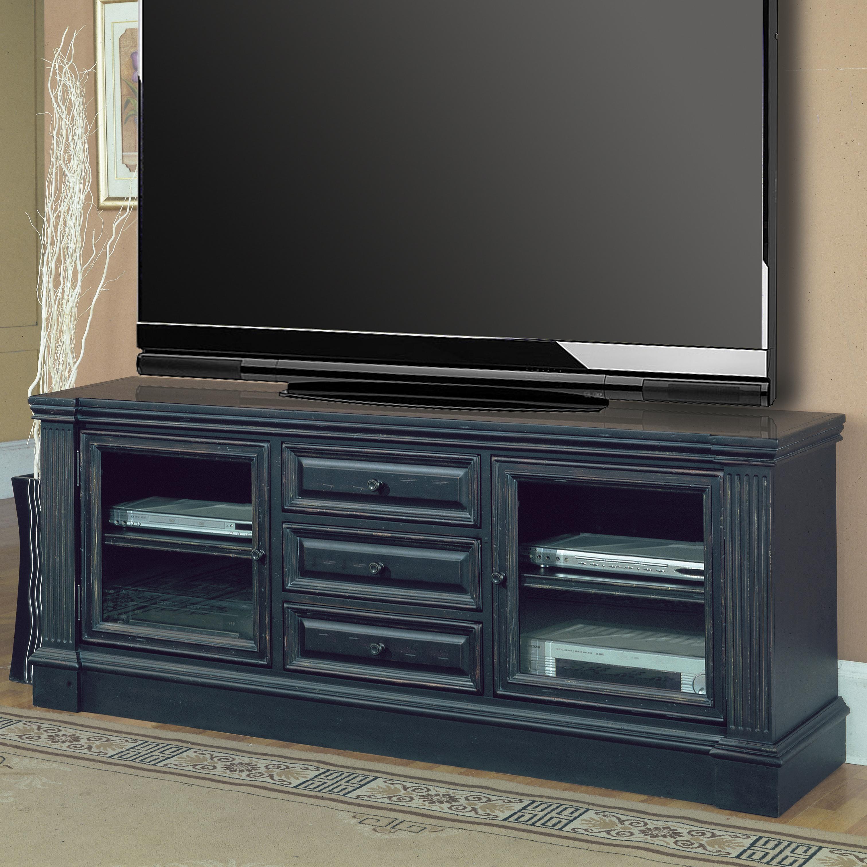 """Parker House Venezia 77"""" TV Console with Power Center - Item Number: VEN 615"""