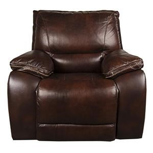 Warwick Leather Match Power Recliner