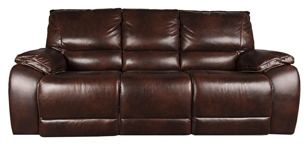 Warwick Leather Match Power Sofa