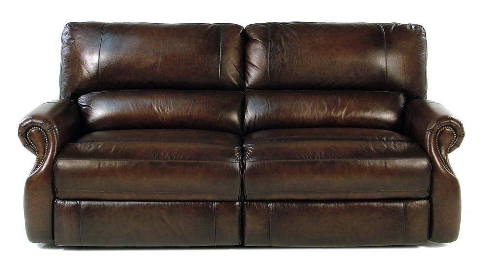 Parker Living Prestige Traditional Dual Power Reclining Sofa - Item Number: MHAW-832P-BR
