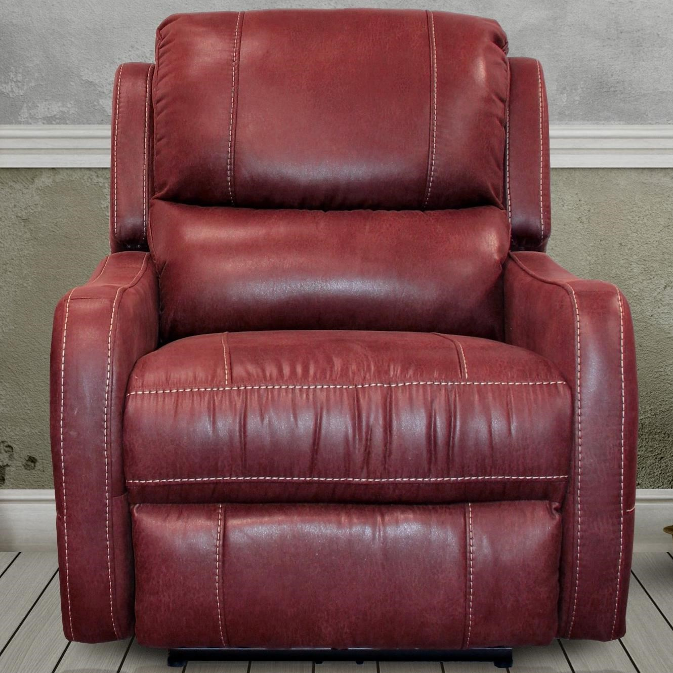 Parker Living August Power Lay Flat Recliner - Item Number: MAUG-812P-RU