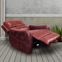 Parker Living August Contemporary Power Lay Flat Recliner with Track Arms