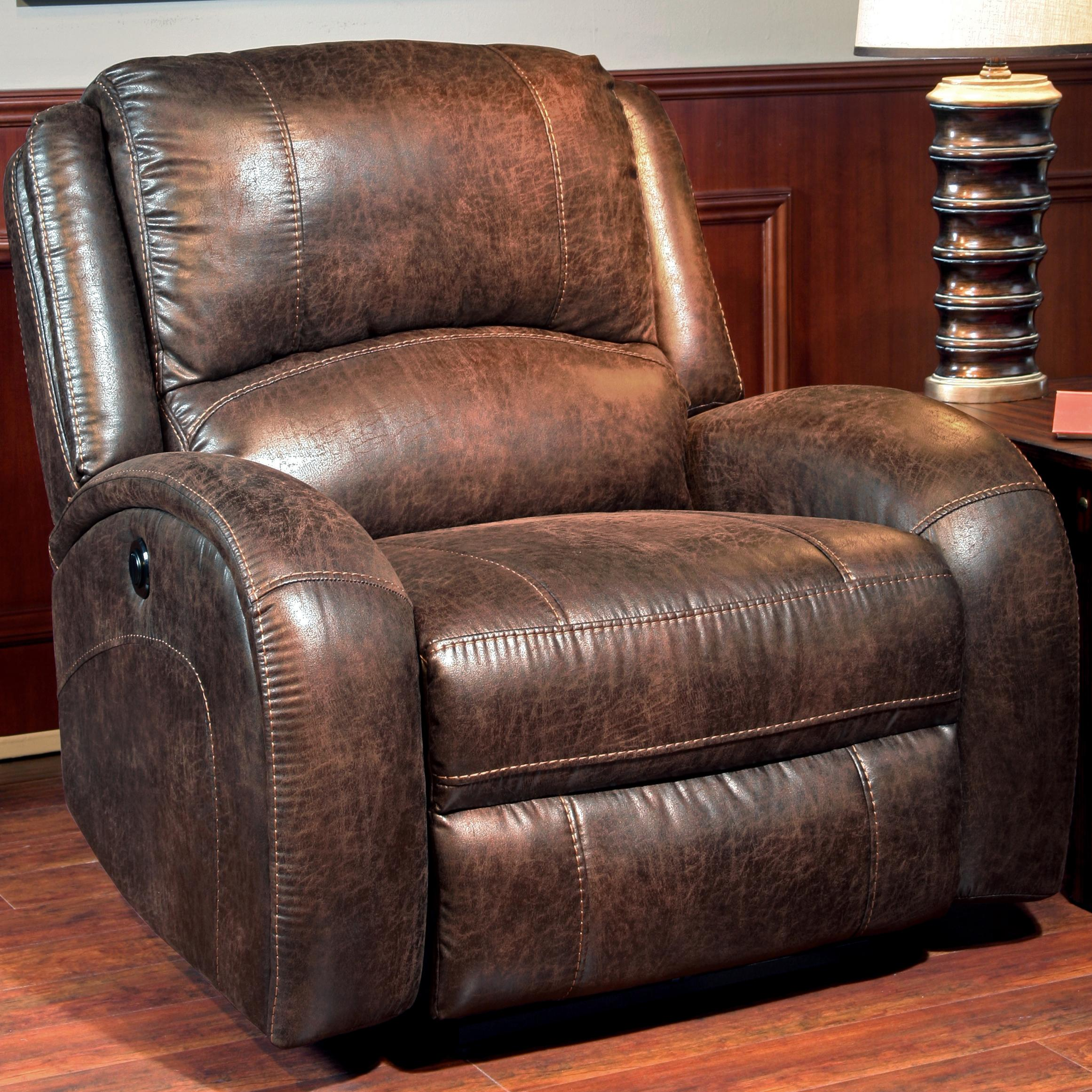 Parker Living Bacchus Traditional Lay Flat Power Recliner - Item Number: MBAC-812P-Bonanza