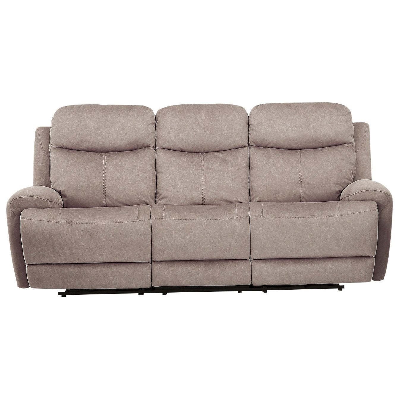 Bowie SOFA DUAL REC PWR W/ USB & PWR HDR by Parker Living at Zak's Home