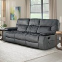 Parker Living Chapman Dual Reclining Sofa with Drop Down Console - Item Number: MCHA-834-POL