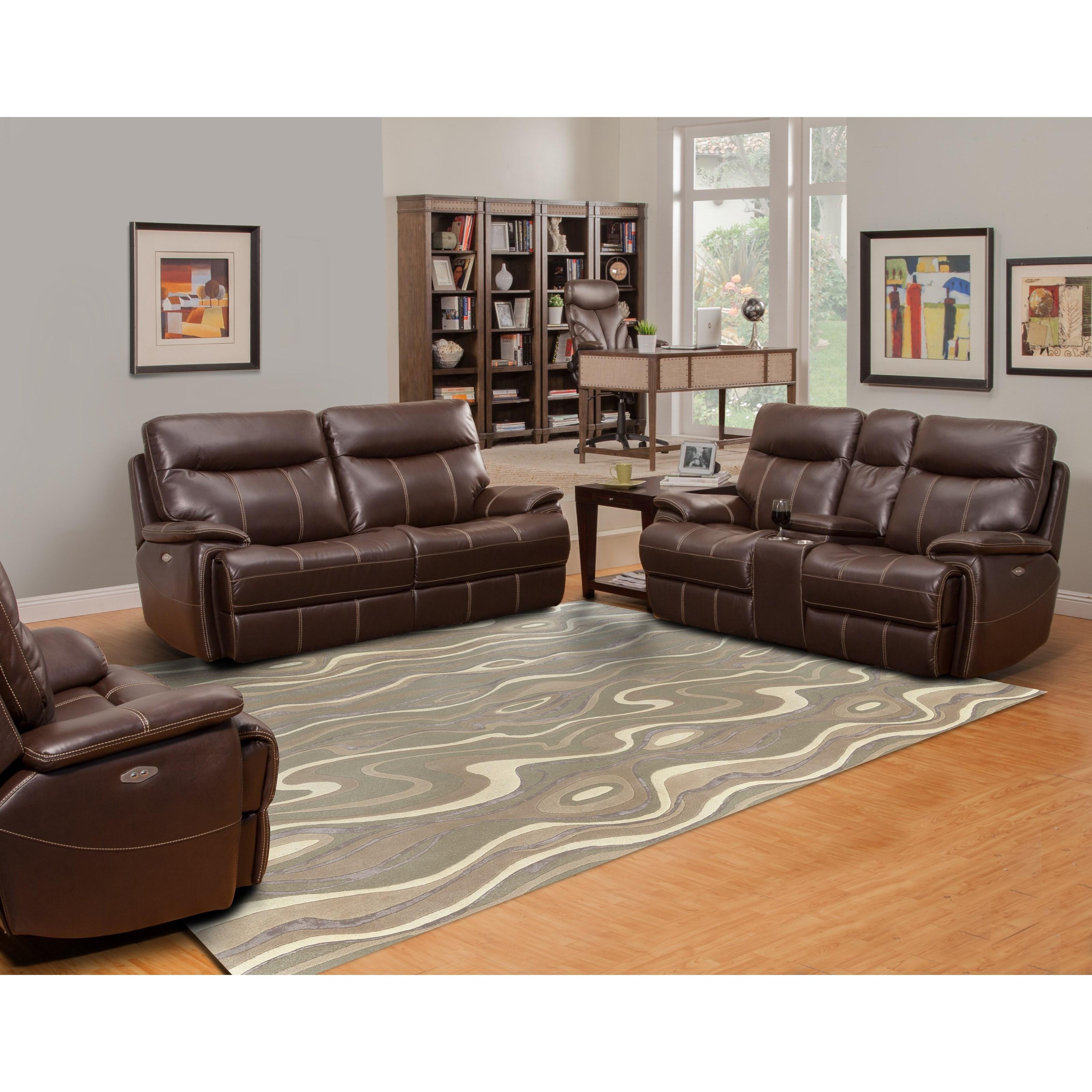 Parker Living Dylan Power Reclining Living Room Group   Item Number: MDYL  Reclining Living Room