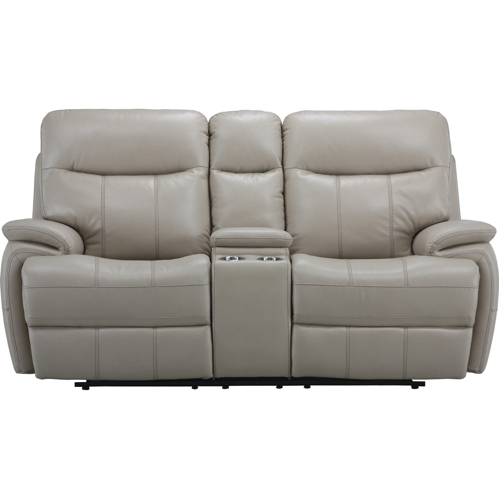 Parker Living Dylan Dual Recliner Power Console Loveseat - Item Number: MDYL-822CP-CRE