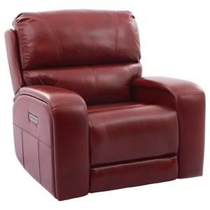 Recliner With Headrest And Lumbar Support