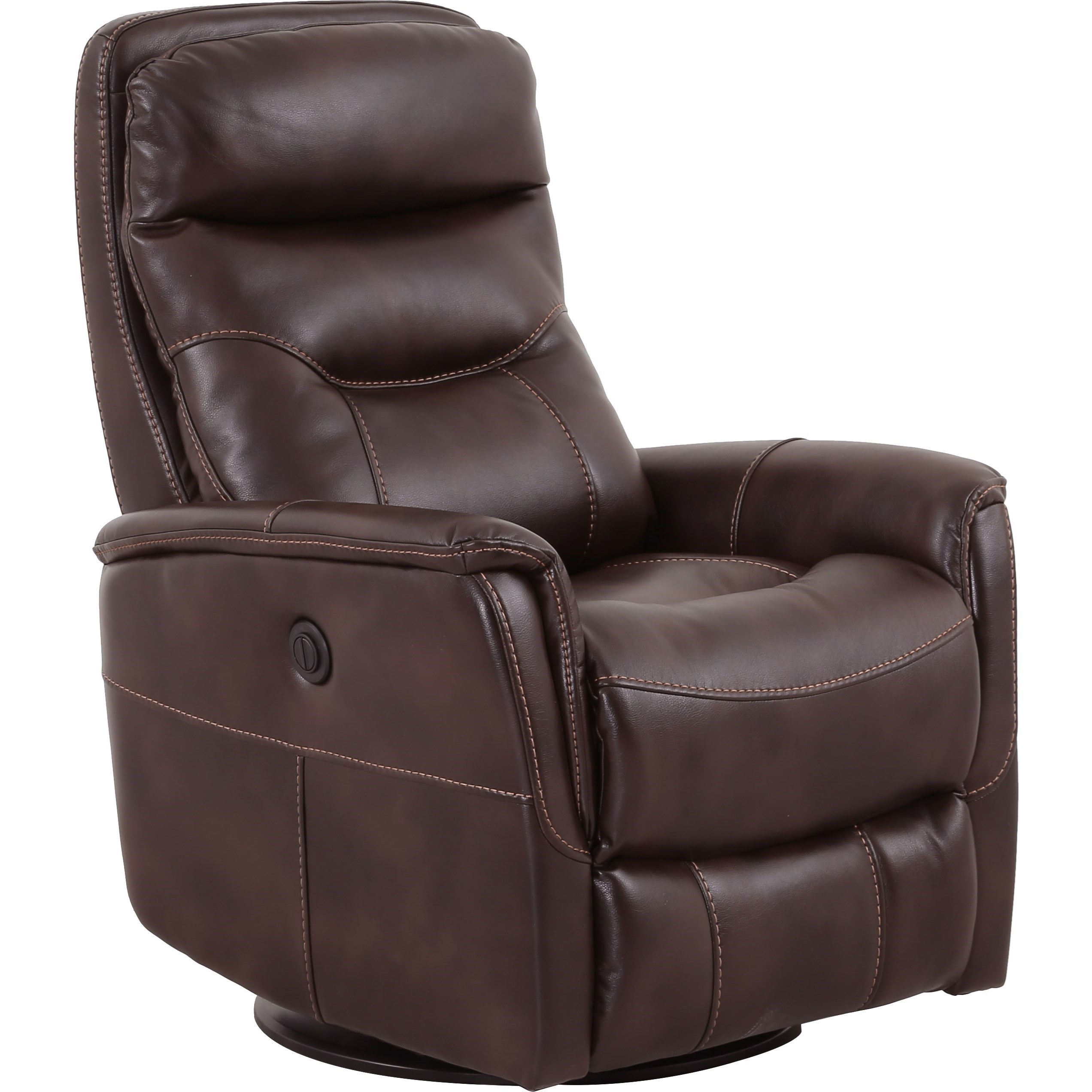 Parker Living Gemini Contemporary Swivel Glider Power