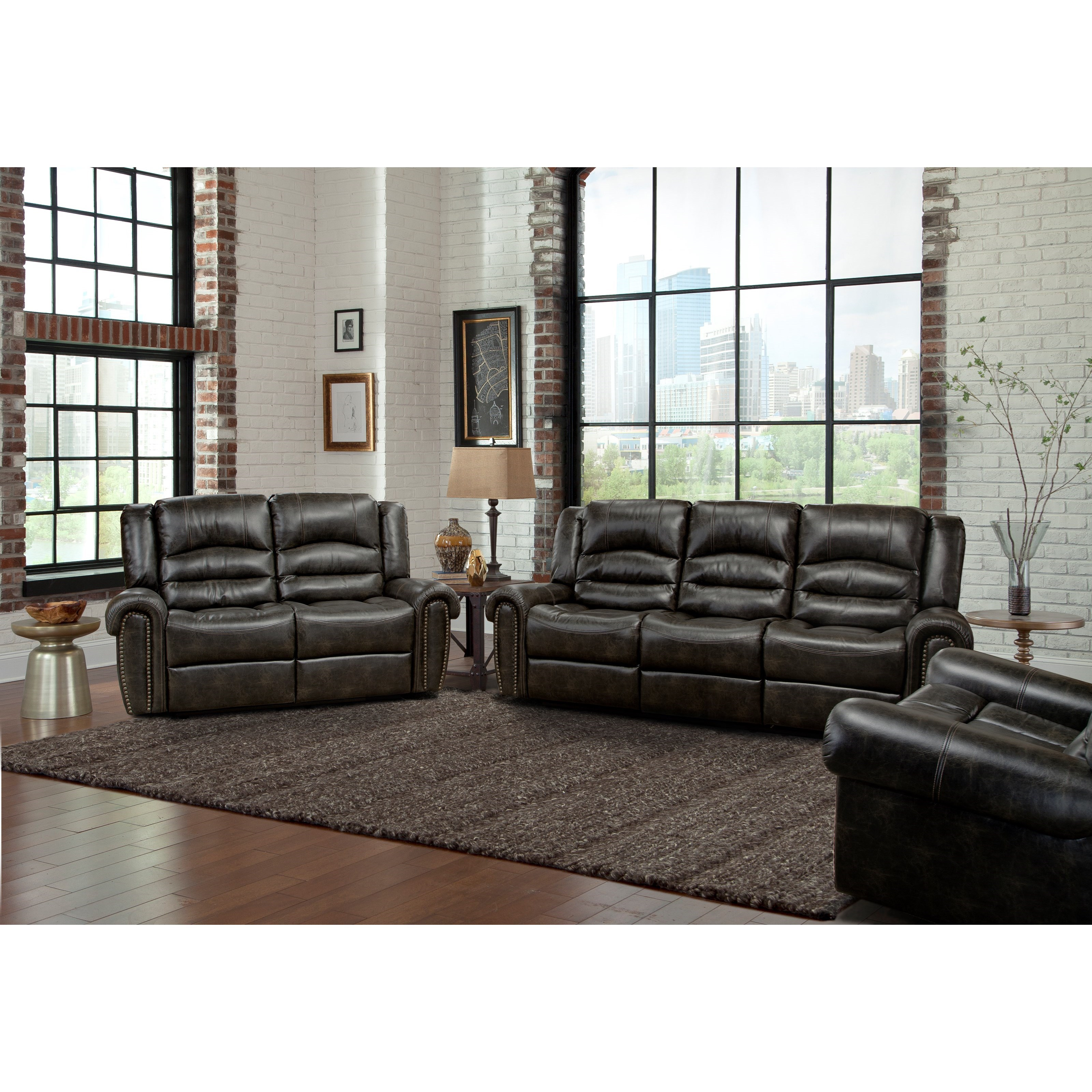 Parker Living Gershwin Reclining Living Room Group - Item Number: MGER Reclining Living Room Group 1