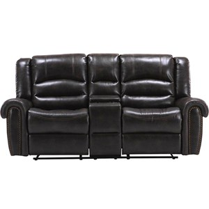 Parker Living Gershwin Power Reclining Console Loveseat