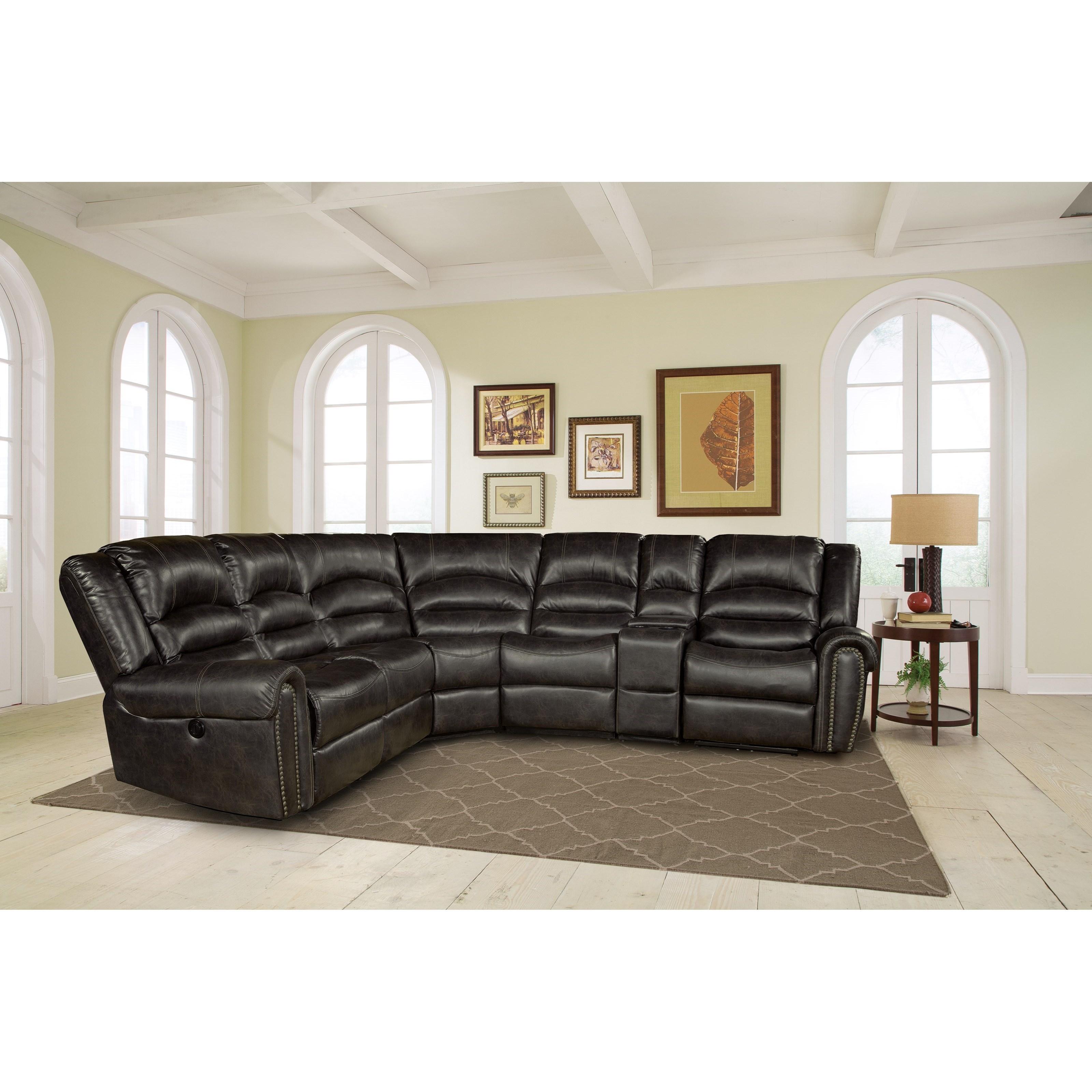 Parker Living Gershwin Sectional Sofa - Item Number: MGER-PACKM-EM