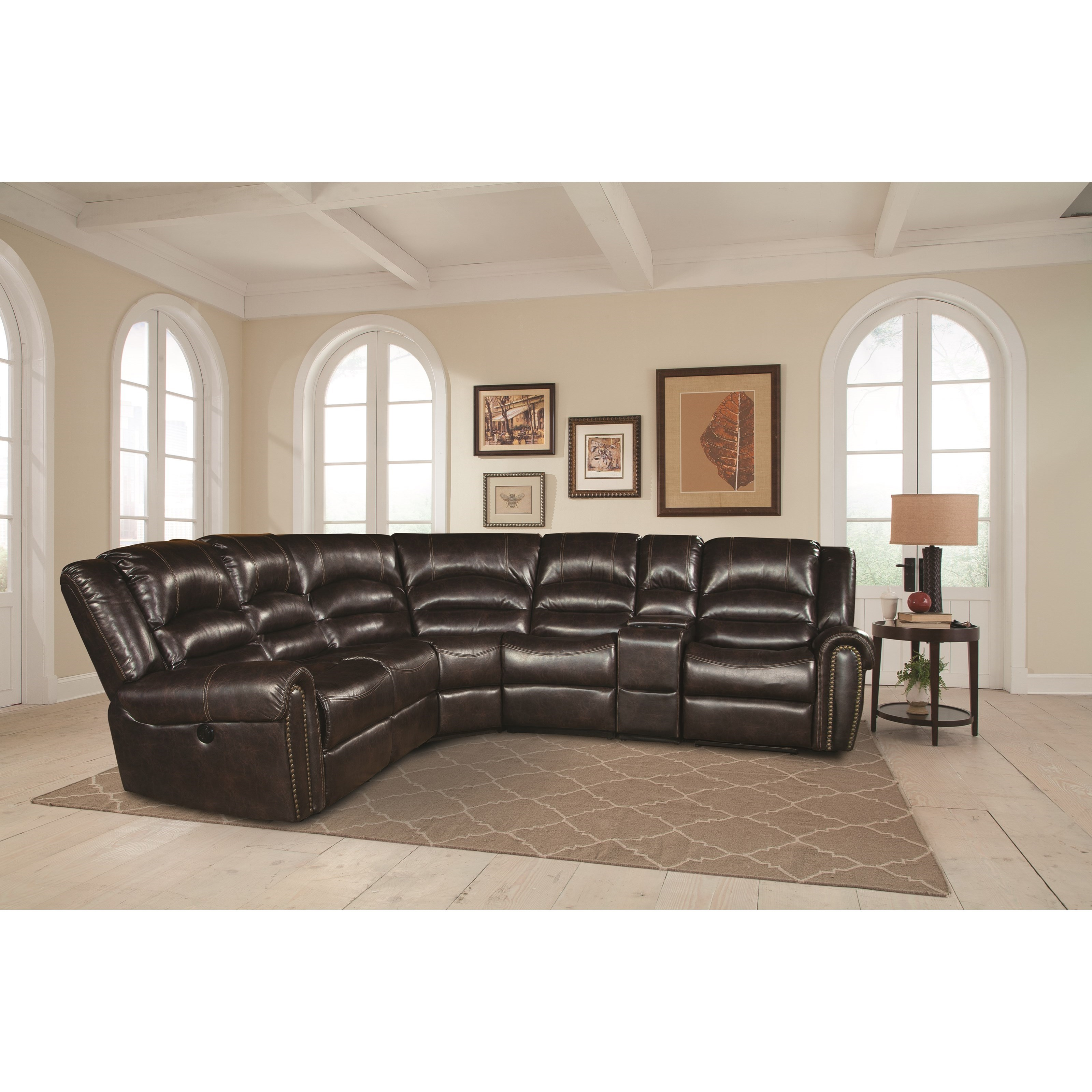 Parker Living Gershwin Sectional Sofa - Item Number: MGER-PACKM-JA