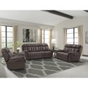 Paramount Living Goliath Reclining Living Room Group - Item Number: MGOL-ABR Living Room Group