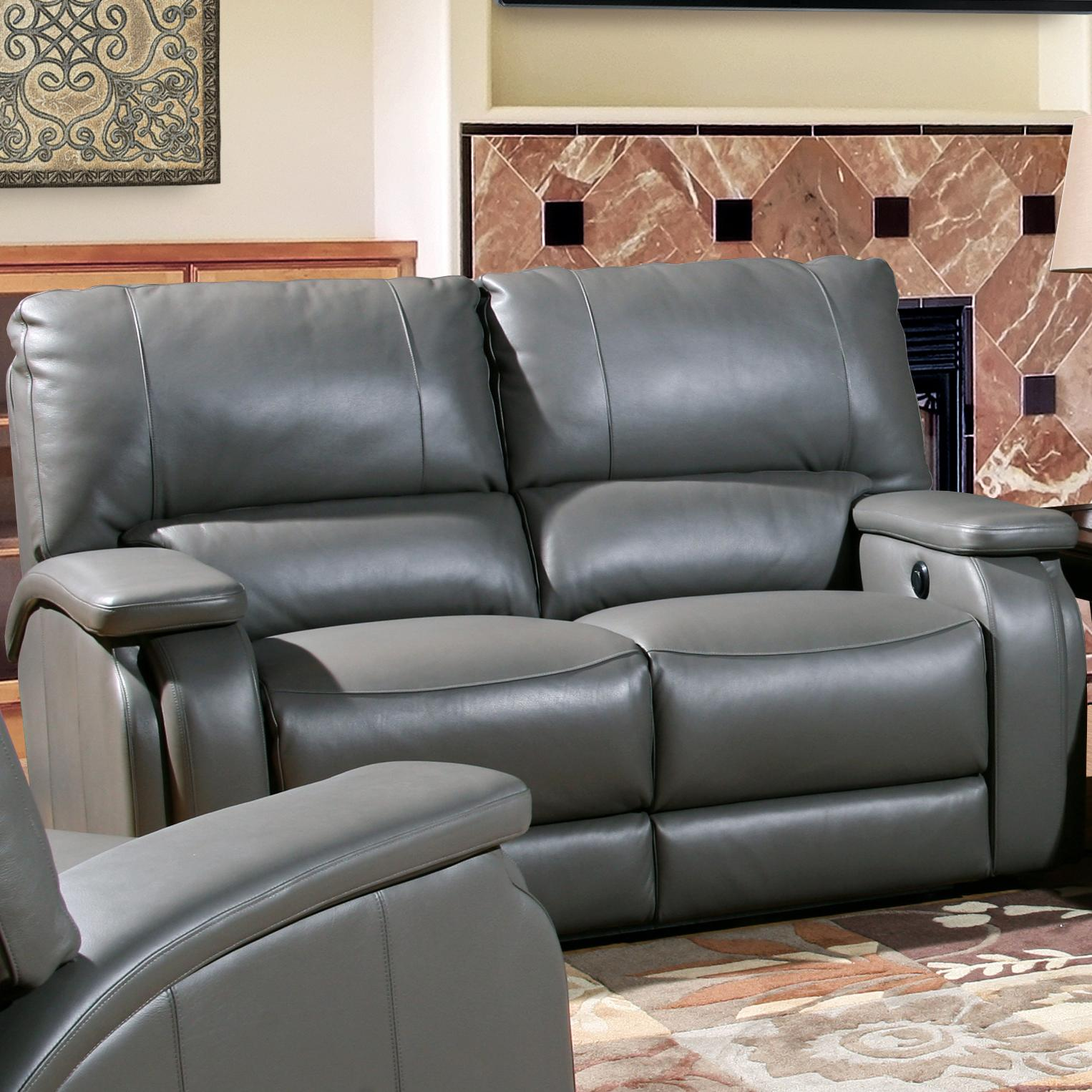 Parker Living Grisham Casual Power Recline Love Seat - Item Number: MGRI-822P-HE