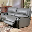 Parker Living Grisham Casual Power Reclining Sofa with Pad Over Arms