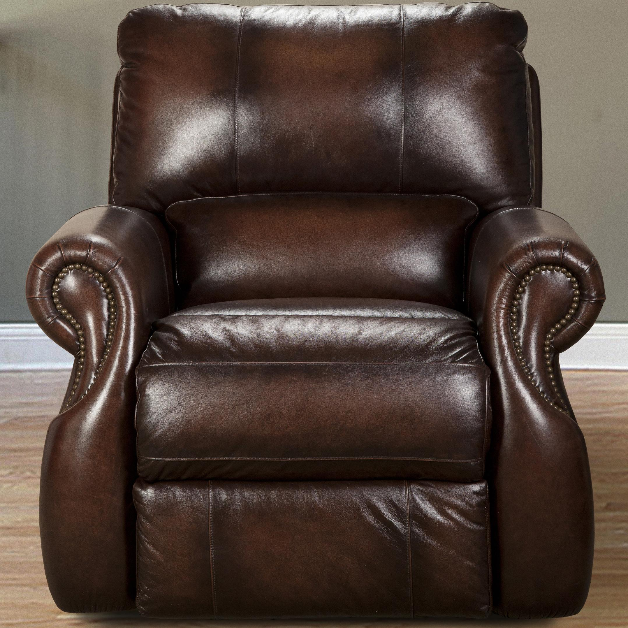 Parker Living Hawthorne Traditional Power Recliner - Item Number: MHAW-812P-BR