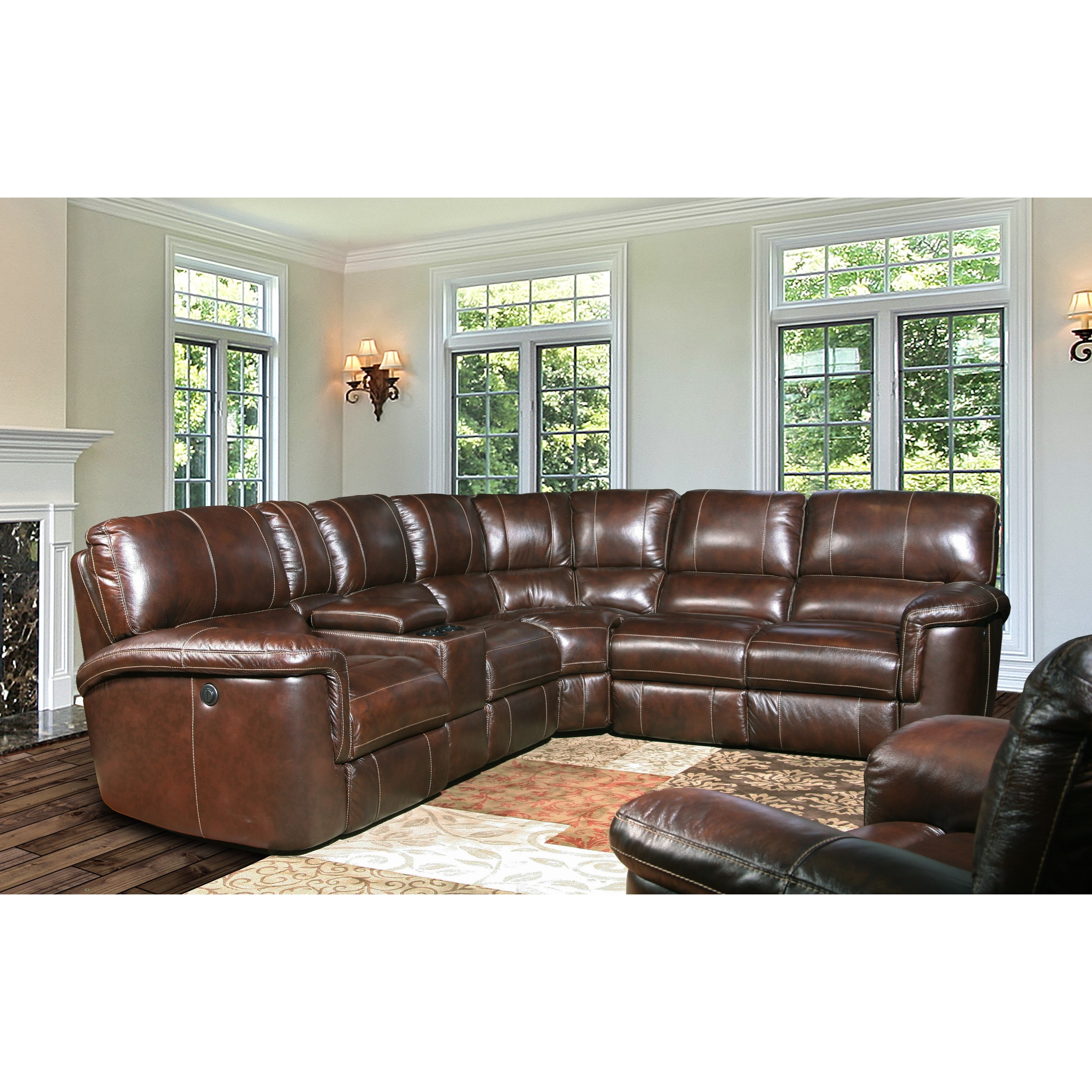 Power Reclining Sectional Group