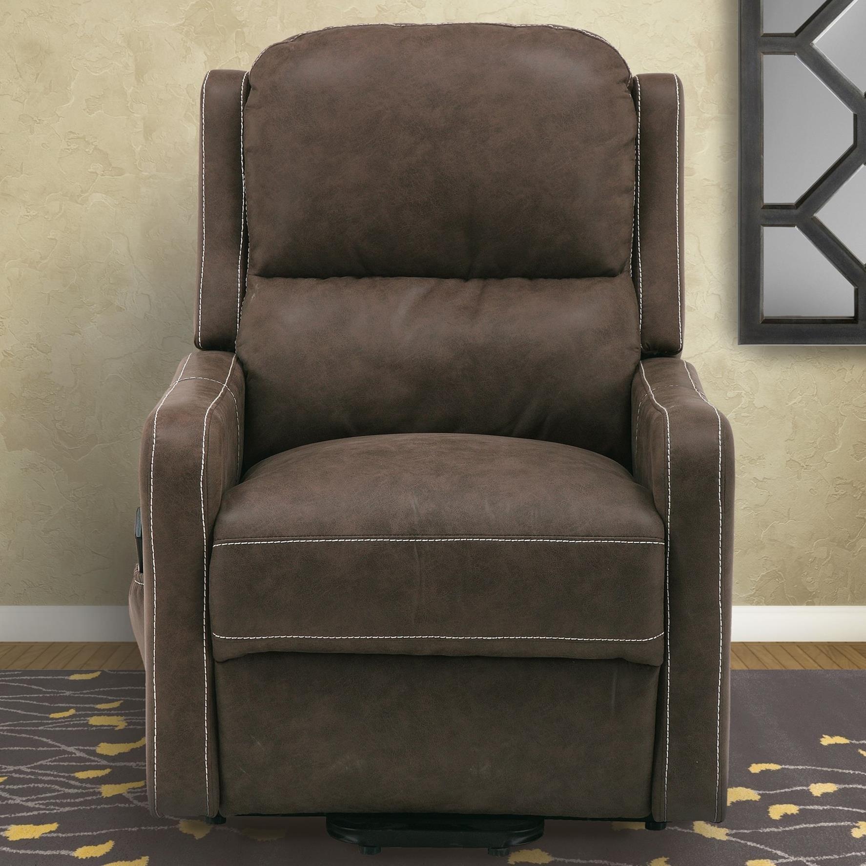 Parker Living Joplin Reclining Lay Flat Lift Chair - Item Number: MJOP-812L2-CHI