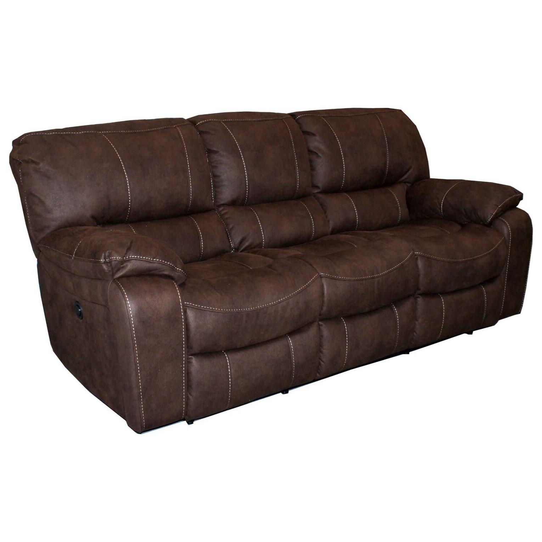 Casual Dual Reclining Sofa