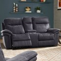 Parker Living Mason Power Reclining Console Loveseat - Item Number: MMAS-822CPH-CHA