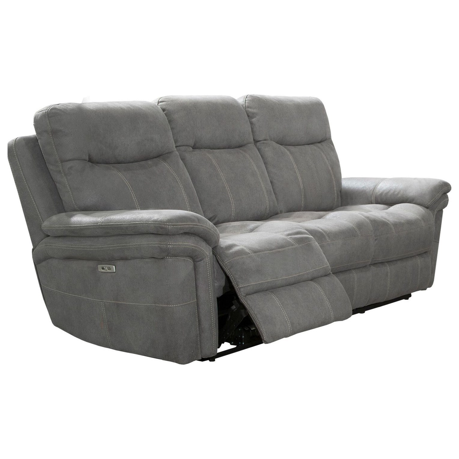 Parker Living Mason Casual Dual Recliner Power Sofa with USB Ports