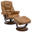 Parker Living Monarch Swivel Recliner & Ottoman - Item Number: MMON-212S-BUT