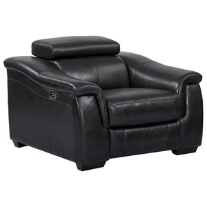 Power Recliner with USB and Ratchet Headrest