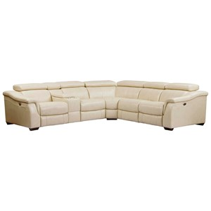 Power Reclining Modular Sectional